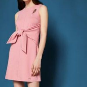 Ted Baker London Papron Cbn Dress with  Tie Size 2